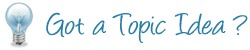 topic idea Help Decide Our Events for 2013 image