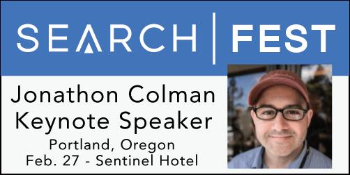 2015 SEMpdx SearchFest Keynote Interview:  Jonathon Colman